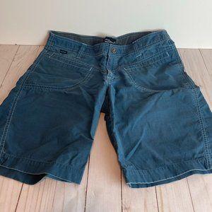 KUHL Women's Utility Blue Stretch Shorts